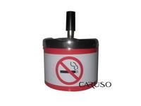Cinzeiro de mesa Aluminio Proibido Fumar Branco