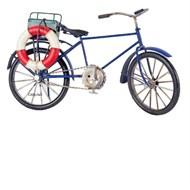 Miniatura Bicicleta Azul