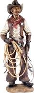 Cowboy com Arma e Corda