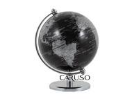 Globo Design Preto base Tradicional Cromado