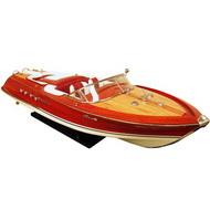 Barco Replica Riva Aquarama Vermelha G