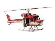 Miniatura Helicoptero Vermelho 1962
