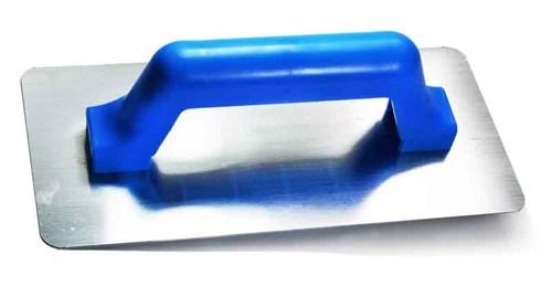 Desempenadeira de Aço Lisa - Cabo Plástico
