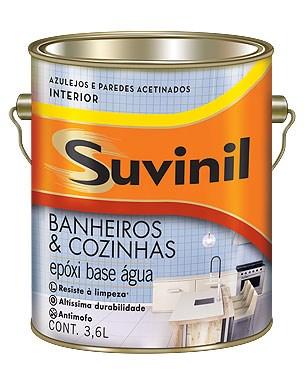 Suvinil Banheiros e Cozinhas Branco 3,6 L