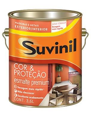 Suvinil Cor e Proteção Esmalte Brilhante 3,6 L