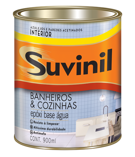 Suvinil Banheiros & Cozinhas - Branco 0,9 L