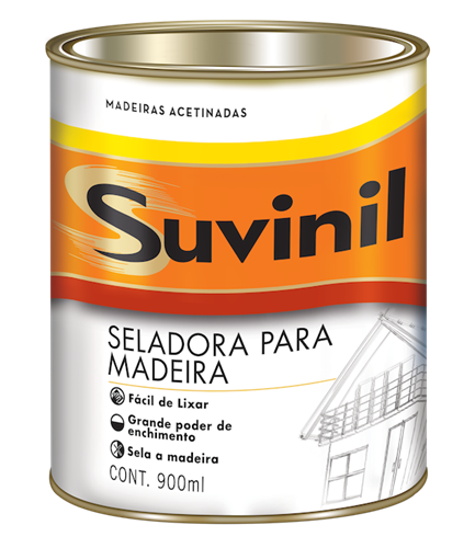 Suvinil Seladora para Madeira 0,9 L