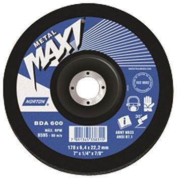 Linha Maxi Aços - BDA 500