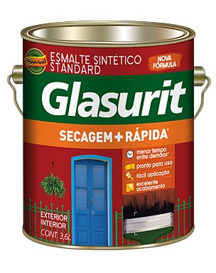 Glasurit Secagem + Rápida 3,6 L Acetinado