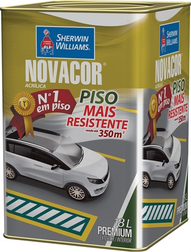 Sherwin Williams Novacor Piso Mais Resistente Branco 18L