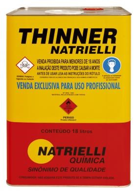 Thinner 8116 Natrielli - 18L