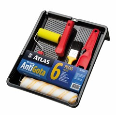 Atlas Kit Antigota Completo AT1017 - 6PC