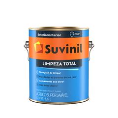 Tinta Suvinil Acrílico Limpeza Total 3,6 Litros Branco