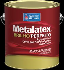Sherwin Williams Metalatex Brilho Perfeito Branco 3,6L