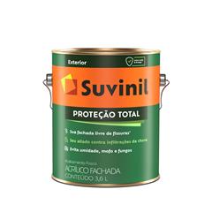 Suvinil Proteção Total Acrílico Fosco- Branco Neve 3,6 L
