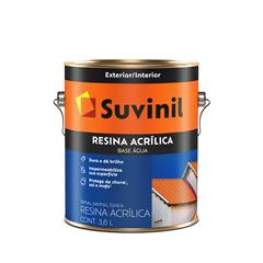 Suvinil Resina Acr. Base Água(TELHAS, PEDRAS E TIJOLOS)3,6L