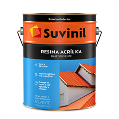 Suvinil Resina Acr. Base Solvente(TELHAS, PEDRAS & TIJOLOS)18L