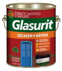 Glasurit Secagem + Rápida Brilhante Branco 3,6L