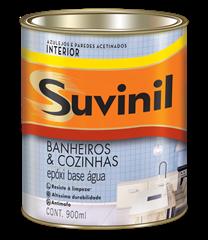 Suvinil Banheiros e Cozinhas - Branco 0,9 L