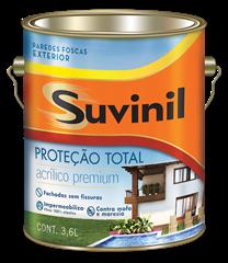 Suvinil Proteção Total - Branco 3,6 L