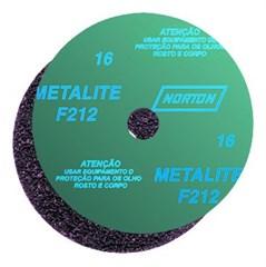 Lixa Metalite - Discos de Fibra 180x22mm