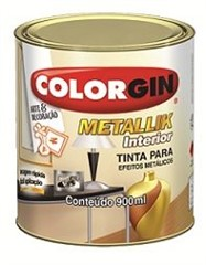 Metallik Interior Prata 900 ml