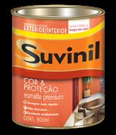 Suvinil Cor e Proteção Esmalte Acetinado 0,9 L