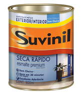 Suvinil Seca Rápido Esmalte Acetinado Branco 0,9 L