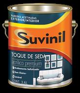 Suvinil Toque de Seda Acetinado Branco 3,6 L