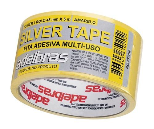 Fita Silver Tape 48x10M