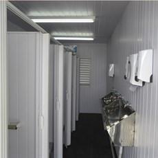 Módulos para banheiros e sanitários
