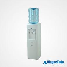Aluguel de bebedouro coluna água natural e gelada