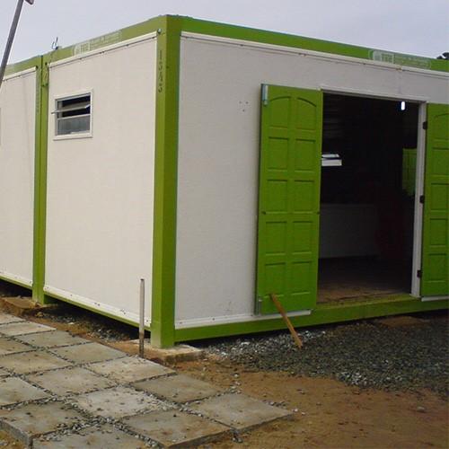Container para almoxarifado