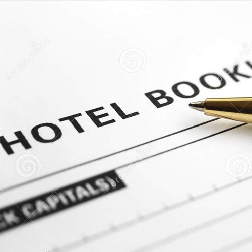 Reservas em hotéis