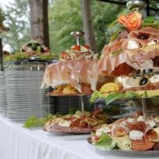 Buffet para festa de debutante