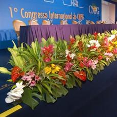 Decoração para Congressos