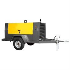 Aluguel de compressor de ar a diesel de 185 PCM