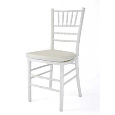 Locação cadeira Tiffany branca