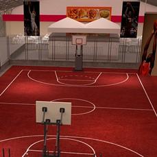Espaço para eventos esportivos