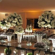Decoração com flores para casamentos