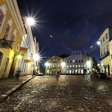 Bahia à noite - bênção no Pelô