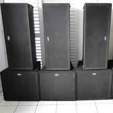 Aluguel de Caixas Acústicas
