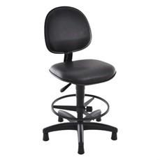 Cadeira Giratória com braço e base fixa