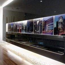 Impressão de painéis decorativos
