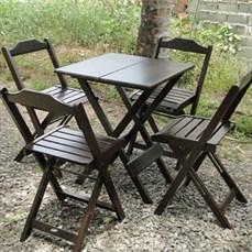 Locação mesa e cadeiras tipo boteco