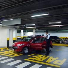Coordenação de estacionamentos