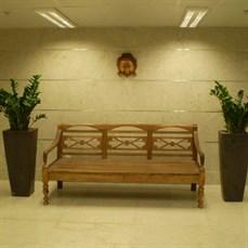 Aluguel de Banco de Madeira