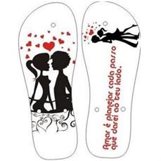 Sandália Personalizada Dia dos Namorados