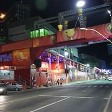 Montagem de passarelas