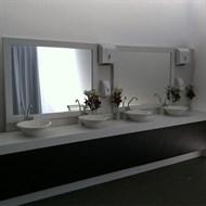 Ambientação de banheiros químicos
